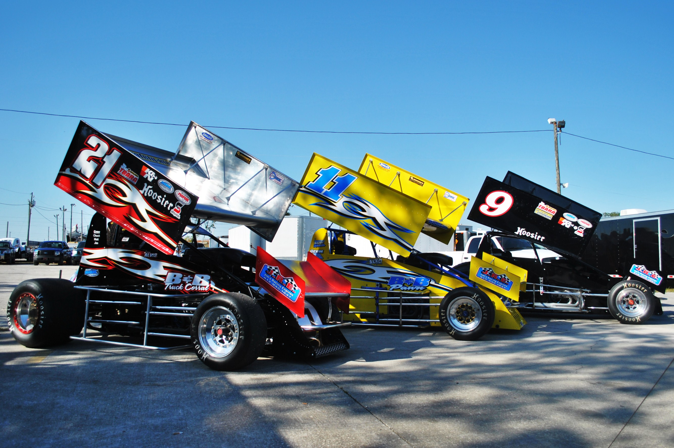 Sprint Cars - Courtesy of SpeedRacer Photos