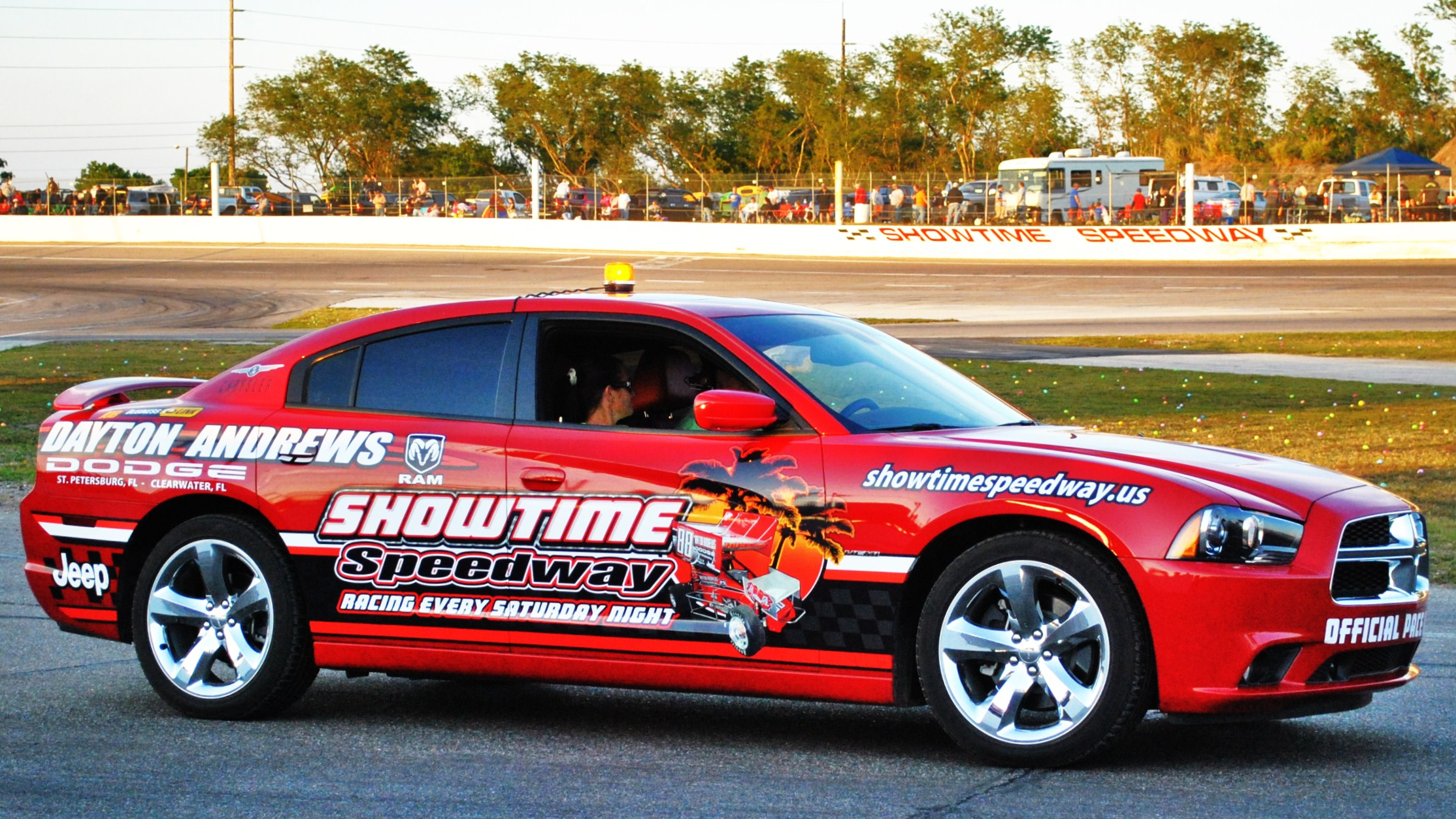 Dayton Andrews Dodge Pace Car - Courtesy of SpeedRacer Photos